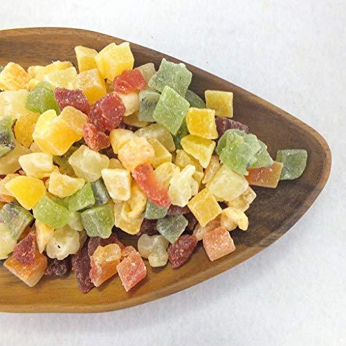ドライフルーツ 1kg マンゴー いちご メロン パパイヤ キウイフルーツ パインアップル トロピカルフルーツミックス 大容量 業務用 チャック付き袋