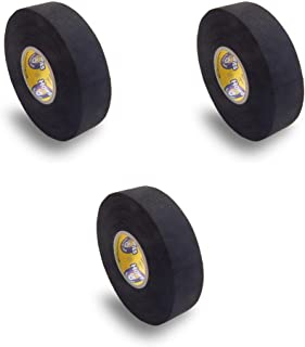 Howies 3 Pack Hockey Stick Premium Colored Cloth Tape or Shin Pad You Choose Colors - Cloth (1 Inch by 25 Yards Long) Clea...