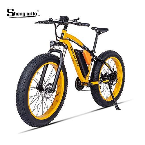 Shengmilo MX02, Bicicleta eléctrica, Motor