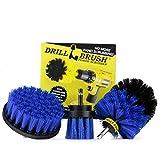 Drill Brush - attaccamento Trapano Scrubber - Spazzola per Trapano - Trapano Cerchioni - S...