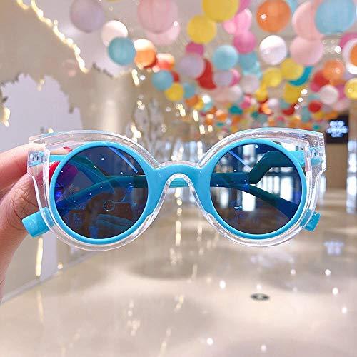 xingxing Gafas de sol retro con marco redondo para niños, estilo británico salvaje, gafas de sol de metal, accesorios (color del marco: otros)