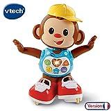VTech - Titi Ouistiti – singe interactif – jouet singe – jouet bebe 12/36 mois – brun