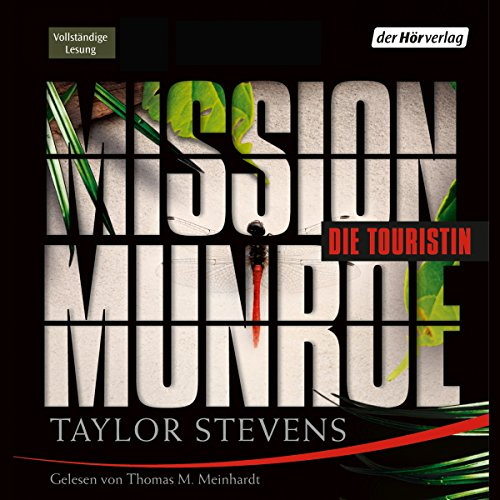 Mission Munroe: Die Touristin audiobook cover art