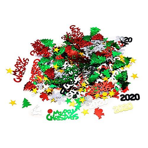 B Blesiya Confetti jultomten glitter julbord festival festdekoration