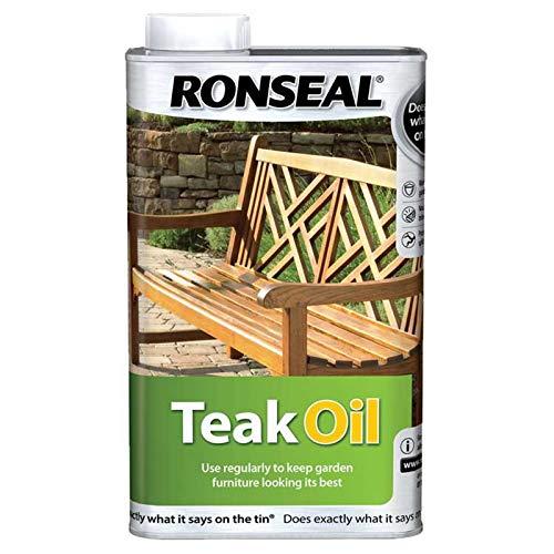 Ronseal TO500 500ml Teak Oil by Ronseal