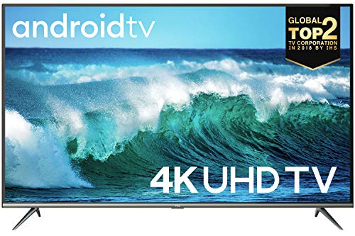 TCL 55EP640 139 cm (55 Zoll) LED Fernseher (4K Ultra HD, HDR 10, Triple Tuner, Smart TV, Prime Video, Alexa & Google Assistant) Schwarz