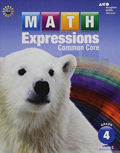 Math Expressions Student Activity Book Grade 4 Vol 2