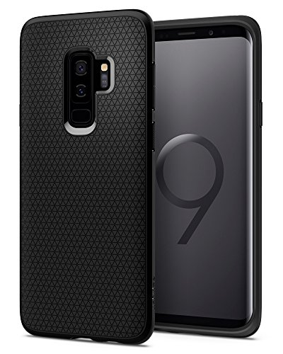 Spigen Liquid Air Armor Designed for Samsung Galaxy S9 Plus Case (2018) - Matte Black