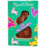 Russell Stover Easter Solid Milk Chocolate Bunny 1.3 Oz (3 Pack) from