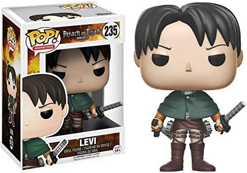 Funko - 14196 - Pop! Vinyle - Attack on Titan - Levi Ackerman