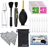 Professional Camera Cleaning Kits for DSLR Cameras Computer Smartphone Sensitive Electronics Cleaning Tools & Accessories (Air Blower/Double Sided Cleaning Pen/Brush/Tissues)