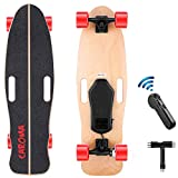 Caroma 32' Electric Skateboard with Remote,12.4 MPH Top Speed, 8 Miles...
