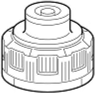 トヨトミ部品:給油口口金/11275908石油ストーブ・ファンヒーターRS-D239E用