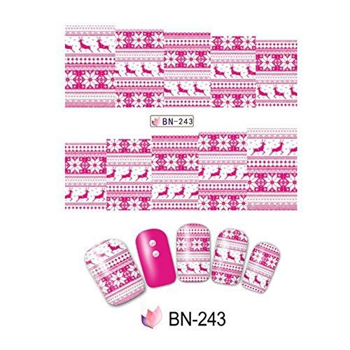 Golden.Y Sheets Full Wraps Nail Polish Stickers,DIY Self-Adhesive Nail Art Decals Strips Manicure Kit for Women Girls Festive Gifts