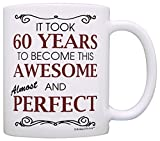 60th Birthday Gifts For All Took 60 Years Awesome Funny Party Gift Coffee Mug Tea Cup White