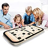 OLOPE Fast Sling Puck Game Paced, Table Desktop Battle,Winner Board Games Toys for Adults Parent-Child...