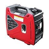 TGHY Generador Portátil Inverter Motor de Gasolina de 2000 Vatios 79 CC de 4 Tiempos Súper Silencioso y Liviano Fuente de Alimentación de Respaldo para Exteriores,1800w