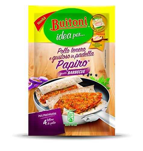 Buitoni Idea per Pollo Tenero e Gustoso Papiro con Barbecue Fogli di Carta Speziata - 4 Pezzi