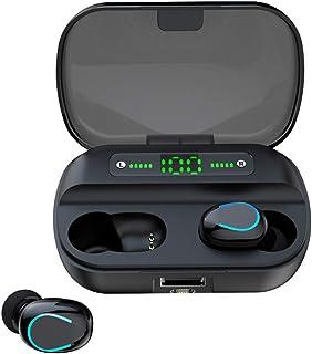 Ruimin Auriculares inalámbricos F9 TWS, Auriculares Bluetooth Boltune Bluetooth 5.0 Impermeables