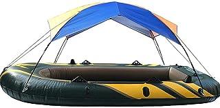 Explea Outdoor Boat Tent Inflatable Boat Fishing Sunshade Rain Canopy Kayak Kit Sailboat Canopy Top Cover Folding Sunshade Hiking Camping Waterproof Sunshade