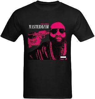 youranli Hombres de Rick Ross Mastermind Unofficial álbum arte Hip Hop camiseta