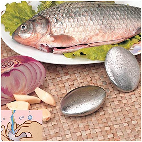 Find Bargain Hstore Stainless Steel Soap, Odor Remover Bar-for Fish Cleaner Onion Garlic Fish Other ...