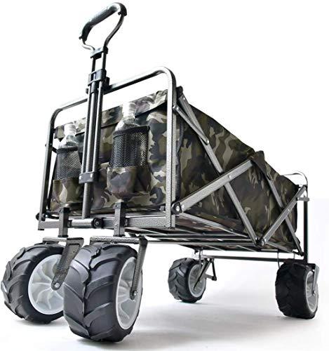 タンスのゲン キャリーワゴン ワンタッチ折り畳み式 幅広大型タイヤ * Raxus OFF ROAD * 89L 同色カバー付...