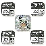 Maxell 377Batterie silberoxide 1,55V, 5X Confezione singola