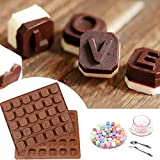Fuibo Kuchen Form Backform 26 Buchstabe Silikon Form Schokolade Räume Eis Würfel Form