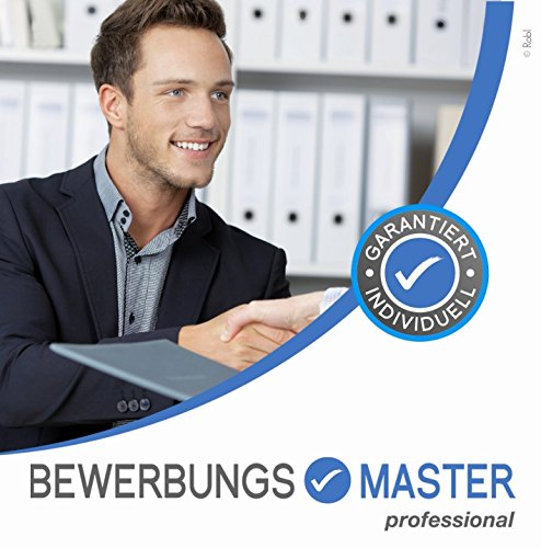 BEWERBUNGSMASTER Professional 2021 | Windows-Software auf CD + Downloadlink | Generator: Lebenslauf, Anschreiben, Profil, Deckblatt | Onlinebewerbung