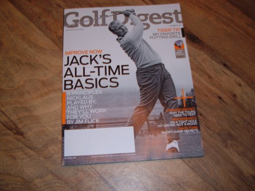 Golf Digest, October 2007 issue: Jack Nicklaus