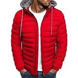 Men's Lightweight Warm Puffer Jacket Winter Down Jacket Thermal Hybrid Hiking Coat Water Resistant...