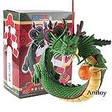 Japón Anime Dragon Ball Figura Shenron Winding Dragon Figura de Acción PVC Feliz Año Nuevo Juguete Regalo 12cm
