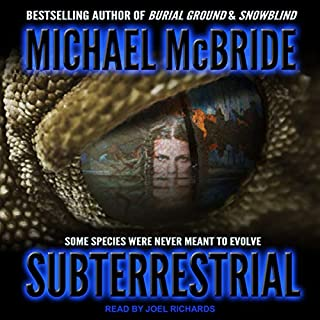 Subterrestrial audiobook cover art