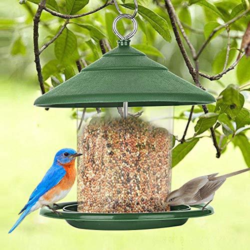 Mangiatoia per uccelli, mangiatoia automatica da appendere, mangiatoia, grani, uccelli selvatici,...
