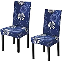 2-Piece Ihoming Super Stretch Dining Chair Covers