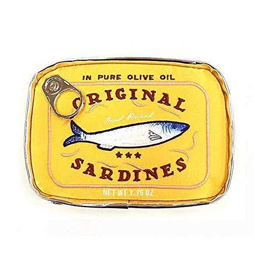 Cas cosmétique Sardines Sac Portable Zipper de stockage en conserve for les cosmétiques Pinceaux Maquillage Voyage professionnel Sac Accessoires Voyage grande capacité Sac étanche lavage multi-couleur