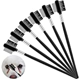 6 Pieces Tear Stain Remover Comb Double-Sided Dog Eye Comb Brush...