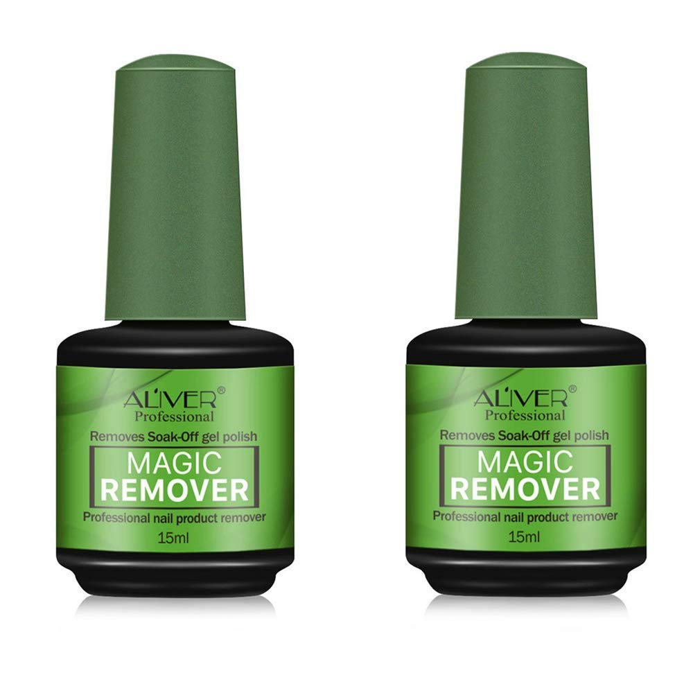 Nail Max 56% OFF Polish Remover 2021 spring and summer new 2 PACK Easily Quickly Removes Ge Soak-Off