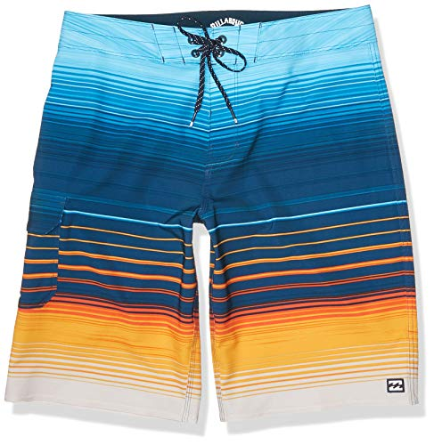 Billabong Men's 20 Inch Outseam Performance Stretch All Day Pro Boardshort, Sunset, 32