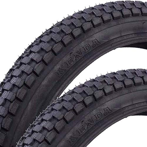 ZQTHL 20 X 2.125Bicycle Tyres,Suitable for BMX/Mountain Bike (Pack of 2)