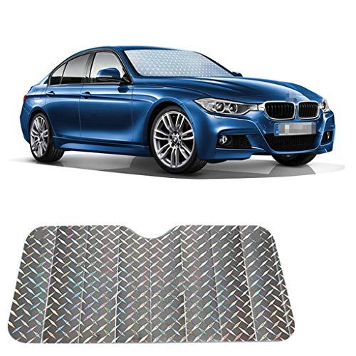 Voorste blokkerende zonwering, isolerende zonwering, zilver-aluminiumfolie-plank, opvouwbaar, eenvoudig op te bergen, geschikt voor SUV, limousine.