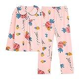 STJDM Pyjama,Pyjamas Damenbekleidung Sweet Princess Style Puppenkragen Langärmliges Nachtwäscheset Mode Lässige Oberbekleidung Nachtwäsche Nachtanzug XL DN5278