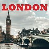 LONDON Calendar 2022: LONDON 2022 Calendar, Calendar 2022-2023 Size 8.5 x 8.5 Inch,18 Month Calendar 2022 For Women, Men, Kids & London Lovers