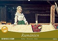 Rumaenien Kultur - Menschen - Natur (Wandkalender 2022 DIN A2 quer): Ein fotografischer Streifzug durch Rumaeniens besondere Landschaften und reichhaltige Kultur. (Monatskalender, 14 Seiten )