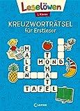 Leselöwen Kreuzworträtsel für Erstleser - 1. Klasse (Blau) (Leselöwen Rätselwelt)