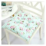 Cojín para asiento Cojín de Espuma Memoria Cojín p Gruesa Niño Silla de comedor Cojines de algodón y lino rellenos de asiento cómodo de sillas de jardín de cocina cojines de los asientos al aire libre