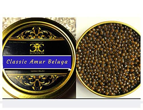 'Customers Favourite'. 50 Gram Freshwater Amur Beluga Caviar. Free 1-2 Day...