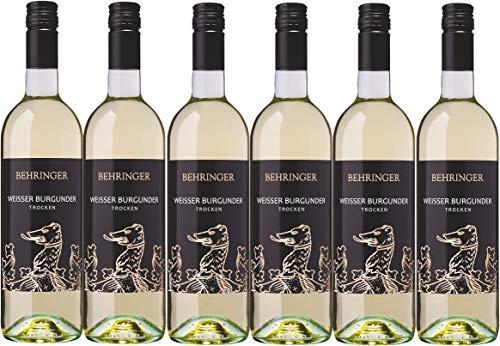 Weingut Behringer Britzinger Sonnhole Weißer Burgunder Qualitätswein trocken (6 x 0,75L)