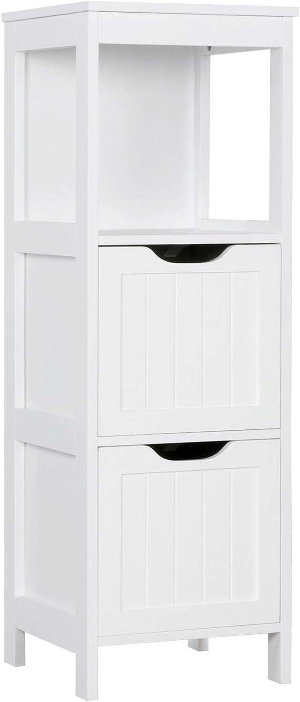 Yaheetech Bathroom Ranking TOP7 Finally popular brand Floor Cabinet 2 Storage with Wooden